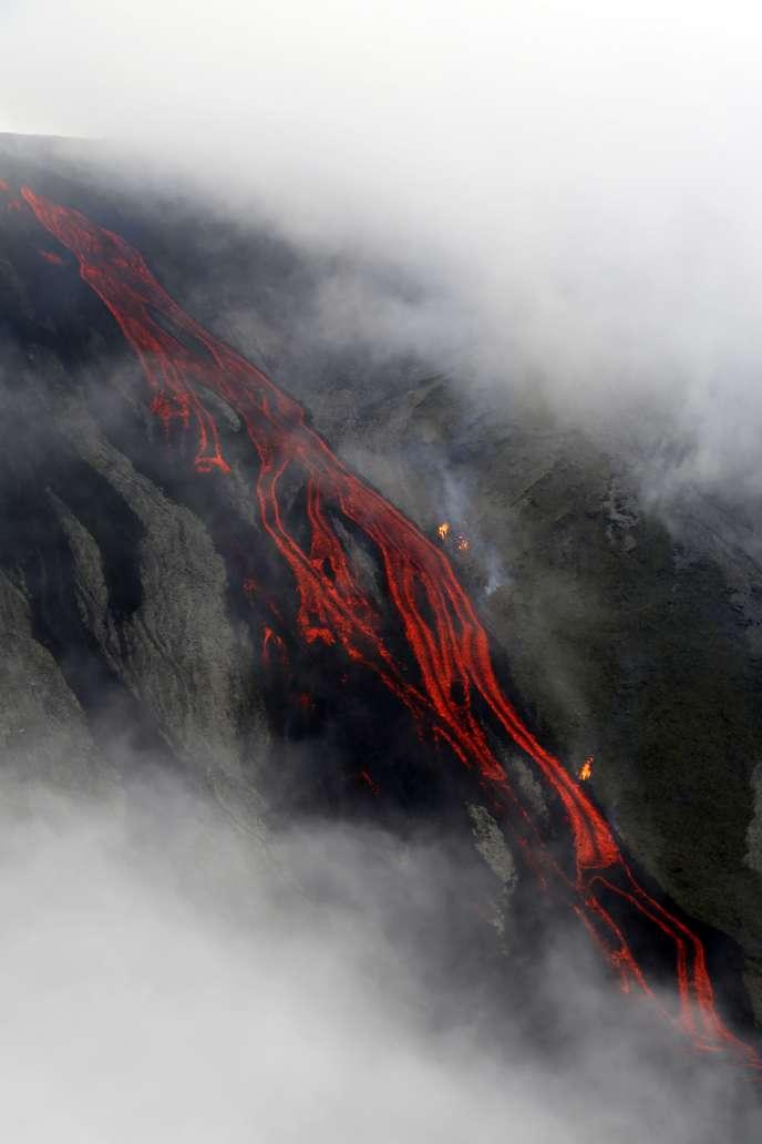 Sur les pentes du volcan, le 31 juillet.