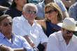 Dominique Strauss-Kahndans les tribunes de Roland-Garros, le 30 mai.