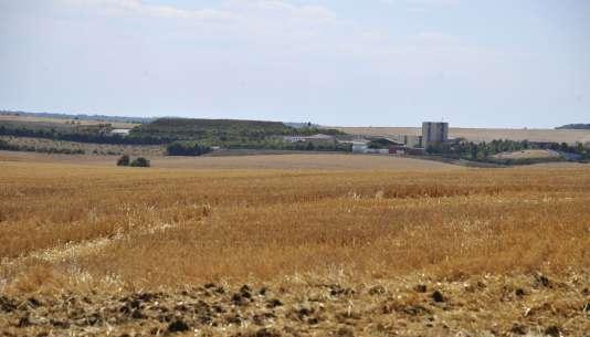 Une vue des installations de surface gérées par l'Agence nationale de gestion des déchets radioactifs, à Bure.