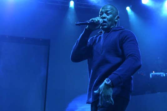 Dr. Dre, le 12 février au Madison Square Garden de New York.