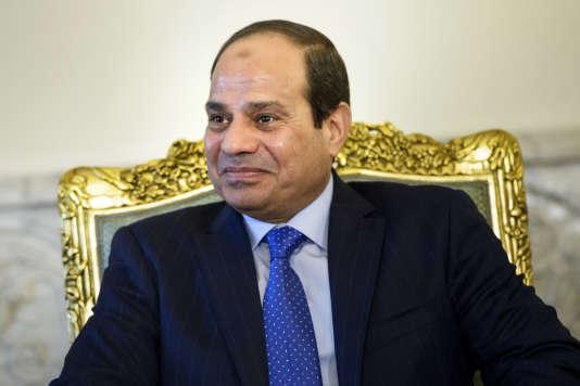 Le président égyptien Abdel Fattah al-Sissi, le 2 août 2015, au Caire.