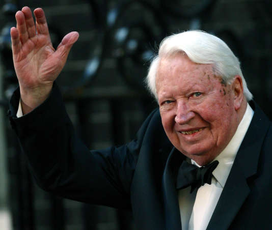 Sir Edward Heath en avril 2002.