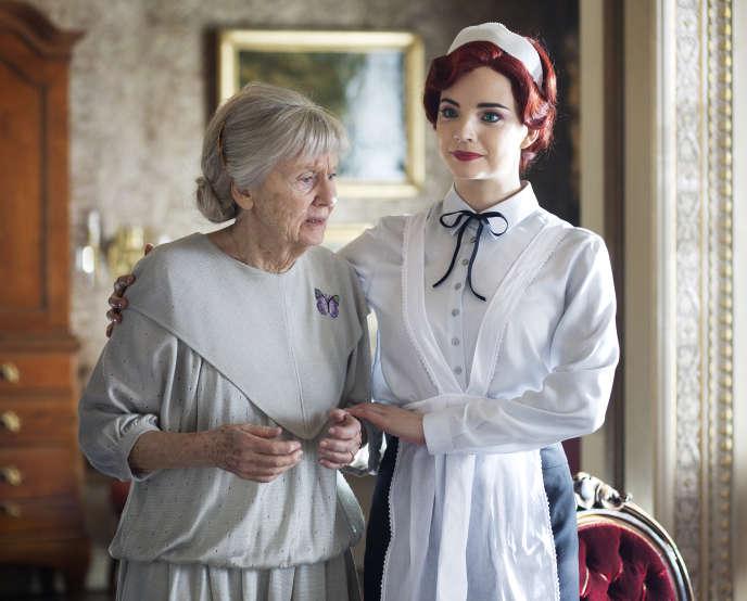 Inga Landgré (Greta) et Louise Peterhoff (Cloette)
