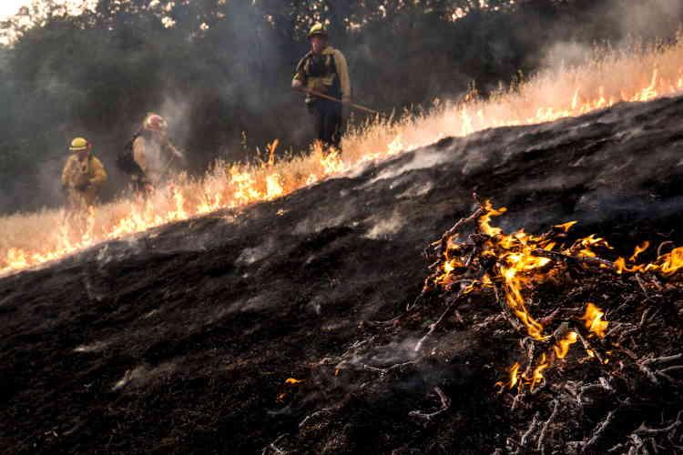 L'origine de « Rocky fire », comme celle de plusieurs autres incendie, faisait encore l'objet d'une enquête dimanche.