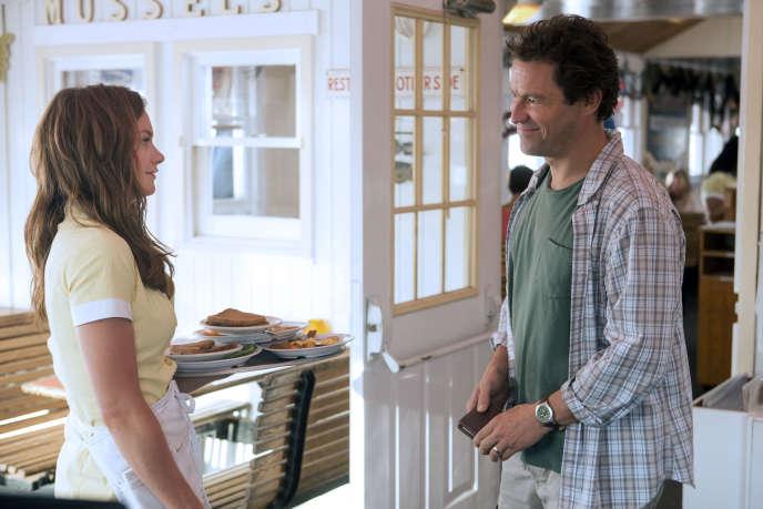 Ruth Wilson (Alison) et Dominic West (Noah) dans The Affair (saison 1, ép. 1).