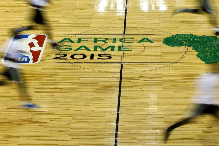 Des joueurs de la NBA, à Johannesburg, le 31 juillet.