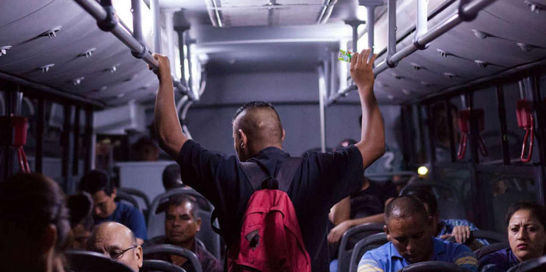 Le bus de Monterrey au Mexique.