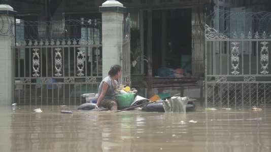 Inondations en Birmanie