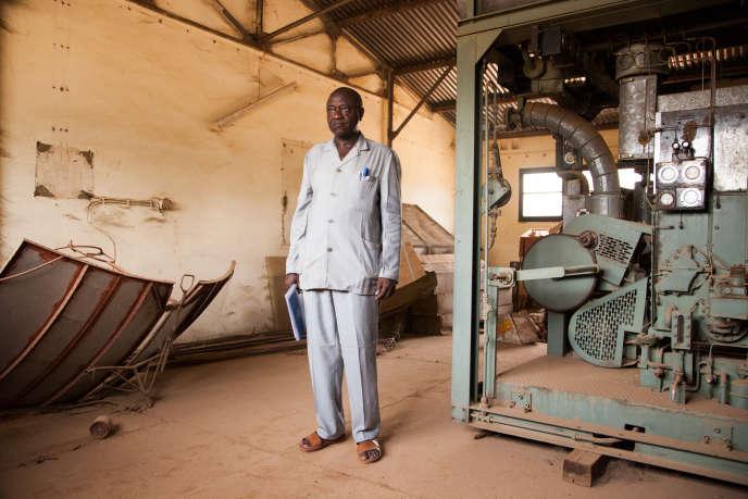 Saleye Yahaya est le directeur du Centre national d'énergie solaire (CNES) de Niamey.