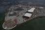 Le futur site Olympique à Rio le 27 juillet 2015.