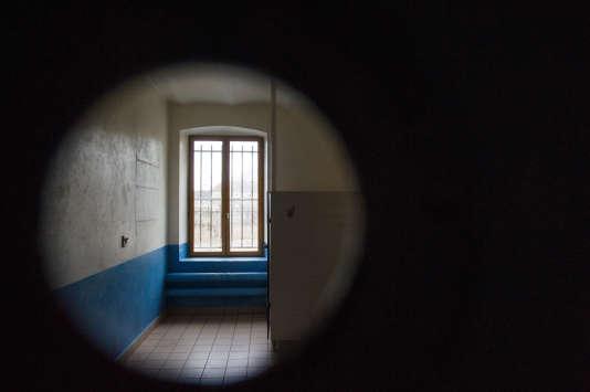Prison de Lure, dans l'est de la France, le 3 avril.