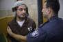 Meir Ettinger, devant un tribunal à Nazareth Illit, le 4 août.