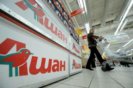L'enseigne française Auchan fait face à un scandale sanitaire en Russie.