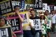 Manifestation à Taïwan le 2 août 2015.