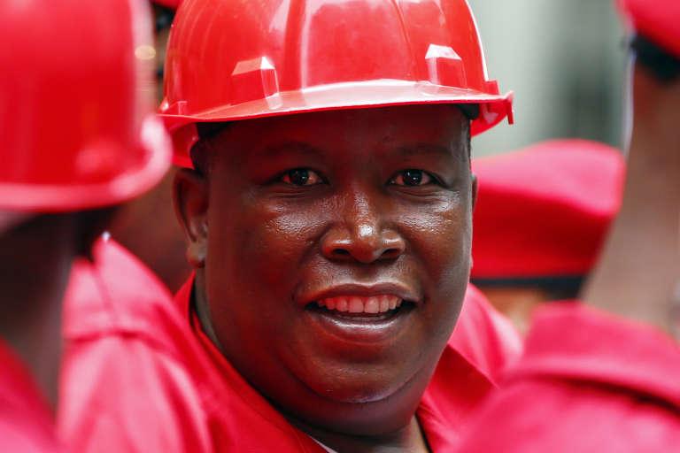 Julius Malema, le leader des  « Combattants pour la liberté économique » (EFF).
