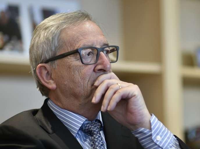 Le président de la Commission européenne, Jean-Claude Juncker, à Bruxelles le 4 août.