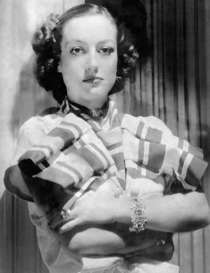 Joan Crawford, en 1937.