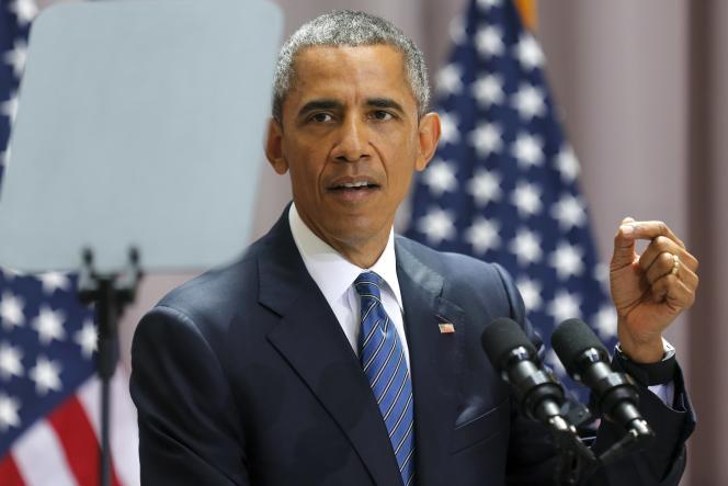 Barack Obama, le 5 août à Washington.