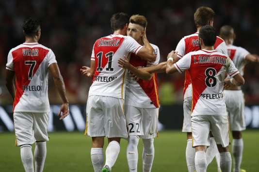 Monaco lors de son match contre les Young Boys de Berne, le 4 août au stade Louis-II.