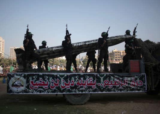 Le sud d'Israël a de nouveau été la cible d'une roquette lancée de la bande de Gaza.