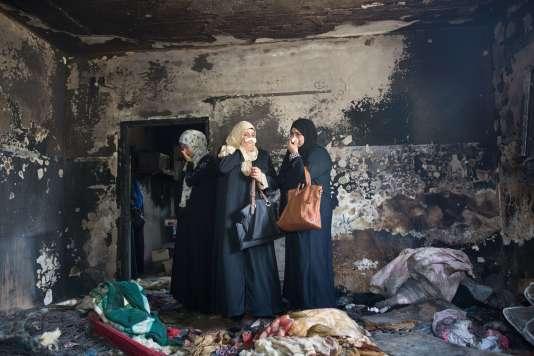 La maison de Saad Dawabsha avait été incendiée par des colons israéliens.