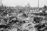 A Hiroshima, quelques semaines après le bombardement du 6 août 1945.