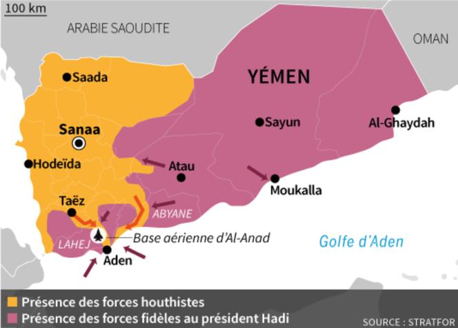 L'offensive des troupes loyalistes au Yémen.