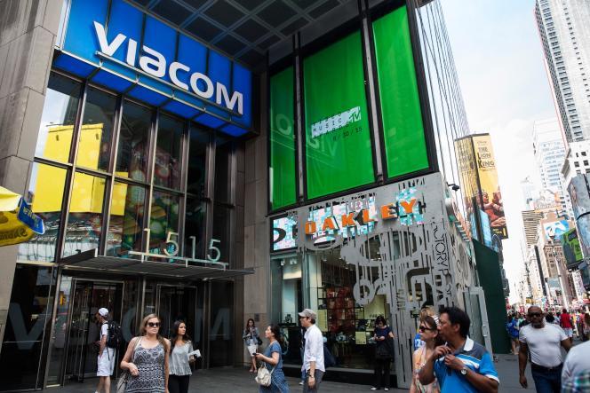 En cinq jours, le titre Viacom a fondu de  20,2 % à la Bourse de New York.