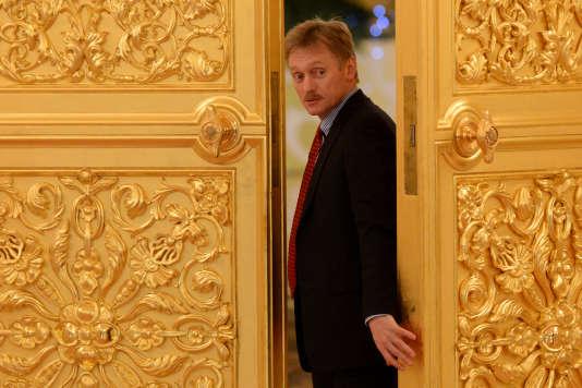 Dmitri Psekov, le 25 décembre 2013 au Kremlin de Moscou.