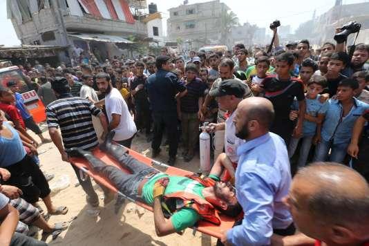 Une explosion à Rafah, dans la bande de Gaza, a causé la mort de quatre personnes.
