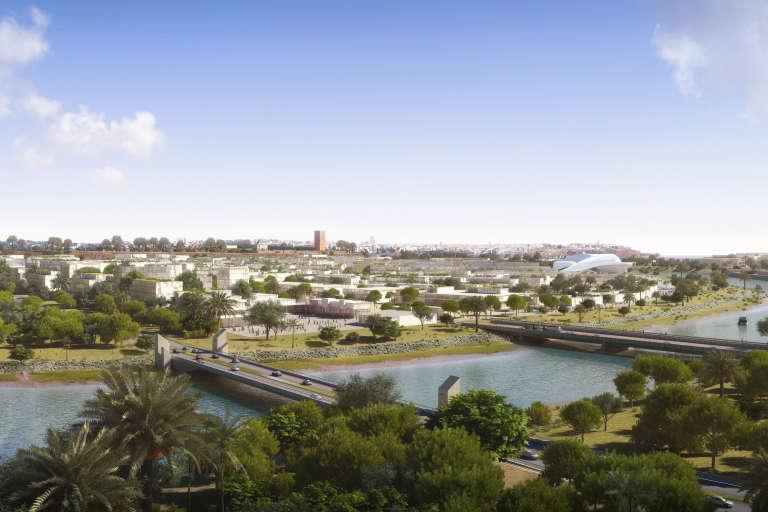 Le chantier culturel et urbanistique dans la vallée du Bouregreg à Rabat pourrait accueillir une antenne des  beaux-arts.