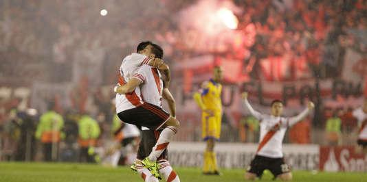 La joie des joueurs de River Plate, le 6 août.
