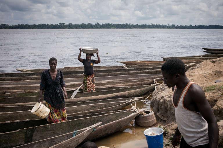Le long de la rivière Oubangui, au nord de la République démocratique du Congo.