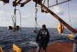 Au large de La Seyne-sur-Mer (Var). «Yeux» d'Antarès, parmi les 900 du télescope.