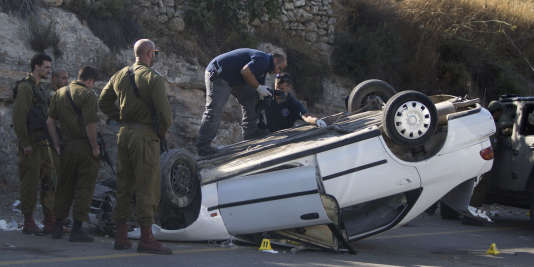 L'attaque à la voiture bélier s'est produite entre Ramallah et Naplouse, le 6 août.