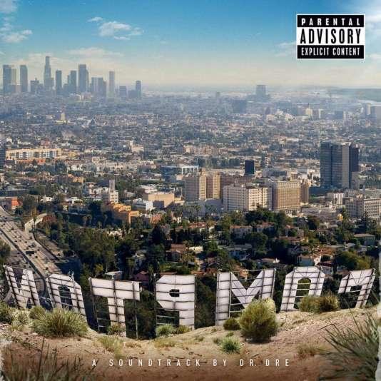 """Pochette de l'album """"Compton""""."""