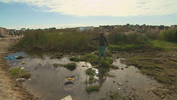 Les habitants des townships, premières victimes des inondations