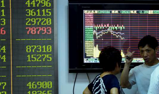 Selon l'Etat chinois 75 millions de citoyens chinois tenaient un compte boursier à la fin juin. Ils n'étaient plus que 51 millions à l'issue du mois de juillet.