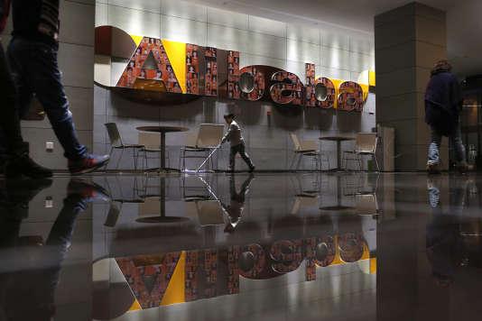 Le siège social du géant chinois du commerce en ligne Alibaba à Hangzhou, dans la province du Zhejiang.