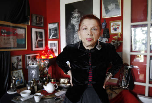 Irina Ionesco, le 9 juin 2010, dans son appartement de Paris.