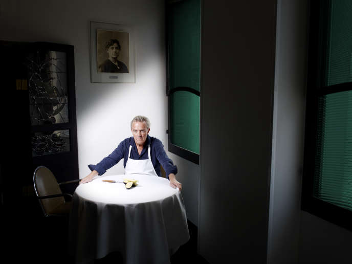 Alain Passard © Thibault Stipal, Arpège, Paris 2015