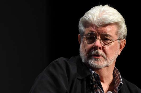 Le réalisateur George Lucas, en avril à New York.