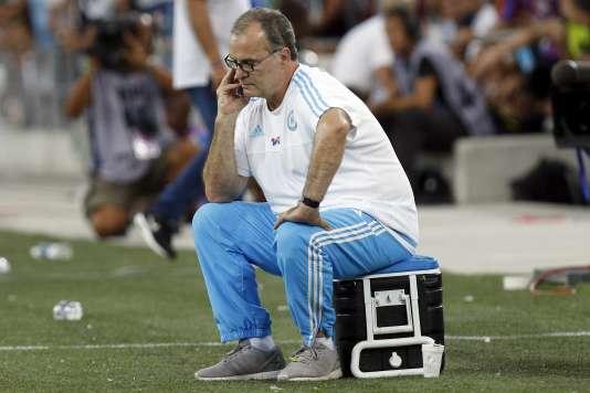 Marcelo Bielsa le 8 août à Marseille.