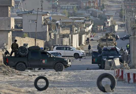 L'attaque contre la base militaire américaine Camp Integrity est la troisième en trente-six heures à Kaboul.