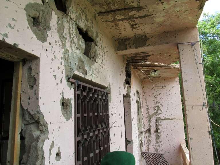 L'hôtel Byblos après la prise d'otages.