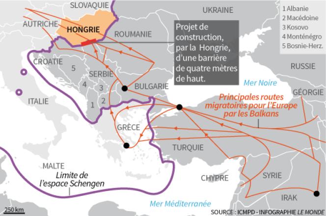 Mur Hongrie-Serbie