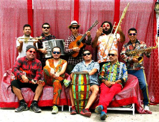 Le groupe chilien Chico Trujillo.