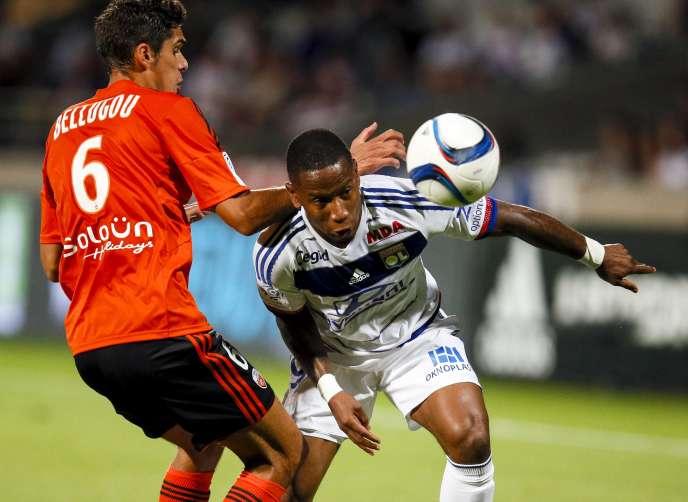 Lyon-Lorient, le 9 août à Gerland.