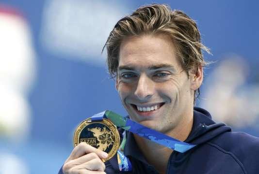 Camille Lacourtfait partie des meilleurs nageurs du monde du 100m dos.