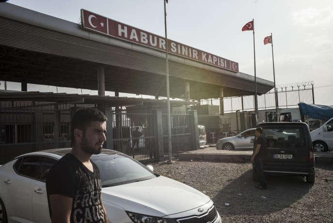 A Silopi, à la frontière entre la Turquie et le Kurdistan irakien, le 29 juillet.